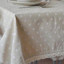 3 Styles Lace Linen Table Cloth Flower Cherry Country Style Multifunctional Tablecloths Table Cover  Free Shipping ZB-16