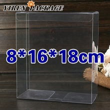 10 pcs/lot8*16*18cm.Candy boxes / gifts & crafts / clear box / present case/ PVC boxes / cases & display / 100% guarantee / par