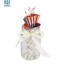 12pcs /lot magic  hat  Christmas Party Suppliers straws Decoration Paper Drinking Straws