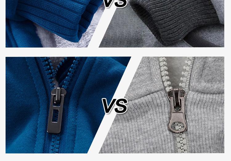 Hoodies Sweatshirt Men 17 New Autumn Winter Warm Thick Solid Casual Brand Tracksuit Men's Sweatshirts Hooded Plus Size 5XL 15
