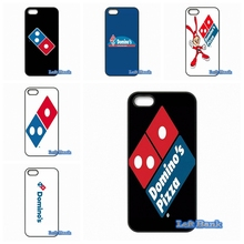 Design Domino pizza logo Phone Cases Cover For Apple iPhone 4 4S 5 5S 5C SE 6 6S 7 Plus 4.7 5.5 iPod Touch 4 5 6