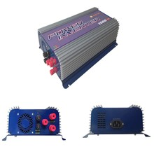 1500W mppt grid tie inverters for 3phase AC 45-90V wind turbine with dump load 1500w ac wind turbine pure sine wave inverter(China)