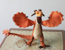 How to Train Your Dragon 1pcs 36cm Deadly Nadder Dragon Stuffed Animal Plush Toys Cartoon Toys Free Shipping