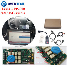Wholesale Full Chip Lexia 3 PP2000 Lexia3 XS Evolution 921815 C/ V4.3.3 Diagbox 7.82 Diagnostic Tool For PSA Citroen Peugeot