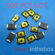 Tact switch 2x3x0.6 Ultra thin 500PCS/LOT mini micro 2pin smd small size for wearable device watch headset(China)