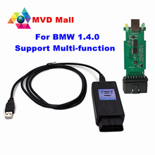 For BMW Scanner 1.4.0 With OBDII Interface For BMW 1.4 Diagnostic Code Reader Never Unlock Version Support Multi-function 1.4.0