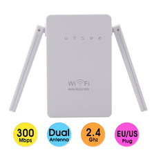 300Mbps Wireless MiNI Router EU / US / UK plug Network Adapters wifi Extender Supports Router, AP, Client, Repeater