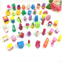 6pcs/set fruit merchant family shopping toy kawaii doll toy set action figure girl's collection juguetes kids toys gift