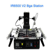 LY IR6500 V.2 infrared bga rework station, laptop motherboard repair machine,with pcb jig