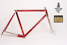 Reynolds frame chrome-molybdenum steel disc frame trekking bike road bike Vintage bike frame Customize frame(China)