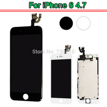 AAA Quality LCD Display for iphone 6 Touch Screen Digitizer full Assembly with front camera Earspeaker(China)