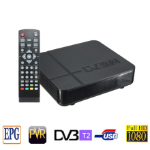 DVB T2 Tuner MPEG4 DVB-T2 HD Compatible set top box TV Receiver W/RCA/HDMI PAL/NTSC Auto Conversion box RUSSIA/EUROPE/THAILAND
