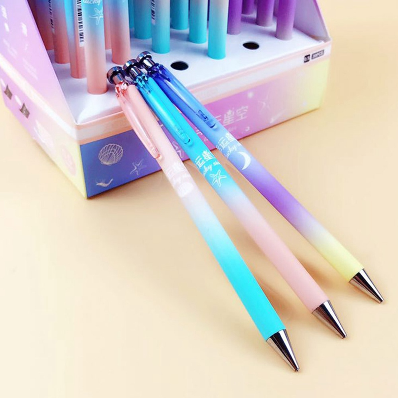 Star Moon Mechanical Pencil Automatic Pens Stationery School Supplies 0.5//0.7mm