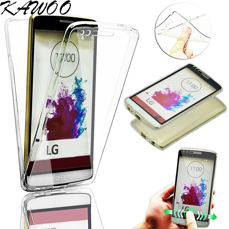 G3 Capa 360 Degree Full Body Clear TPU Soft Silicone Rubber Case Cover LG G4 G5 G6 Q6 K4 K7 K8 K10 G4 Stylus G4 Beat Fundas