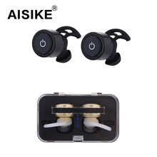 Mini Twins Bluetooth Earphone Wireless Noise Cancelling Sports Music Bluetooth Earbud Tiny Handsfree Running Headset Microphone