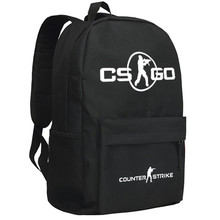 Zshop Shooting Online Game Counter Strike Backpack for Teenage Boys Birthday Gifts School Opening Schoolbag CSGO(China)