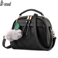 new women messenger bags for ladies shoulder bags pu leather handbags cross body bag women's bag tote A1053(China)