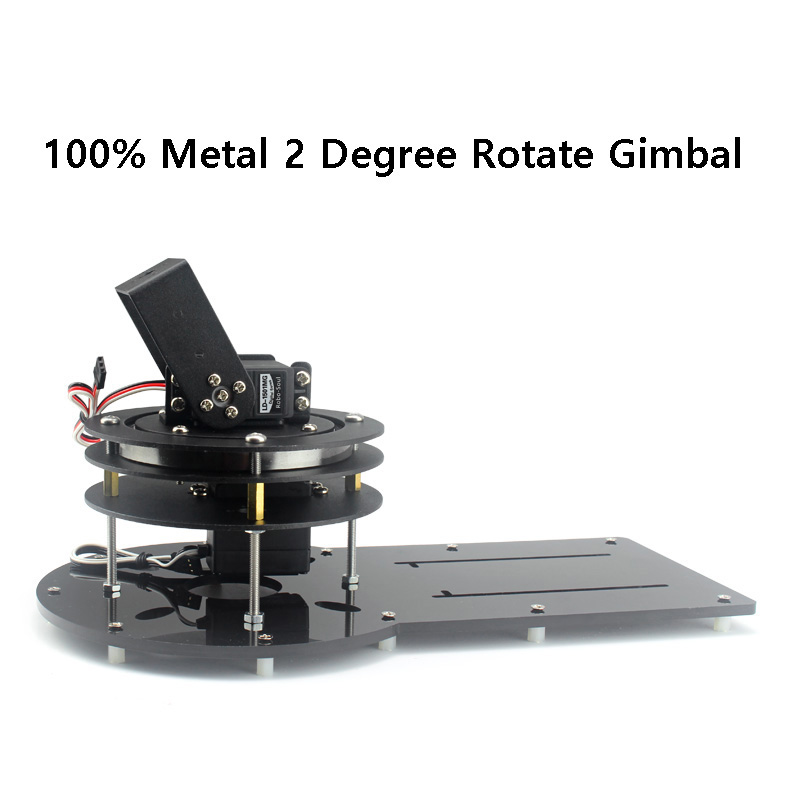 Alloy 2 of Freedom Gimbal Degree large Bearing Rotating base Mechanical Arm Mechanical Arm base<br><br>Aliexpress
