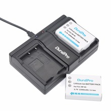 2pc NP-95 NP 95 NP95 Rechargeable Li-ion Battery +Dual Charger For FUJIFILM F30 F31 F30fd F31fd 3D W1 X100T X100S X100 X-S1 3DW1(China)