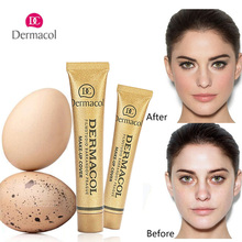 Authentic Dermacol Concealer Base Make up Cover 30g Primer Base Professional Face Dermacol Makeup Foundation Contour Palette(China)