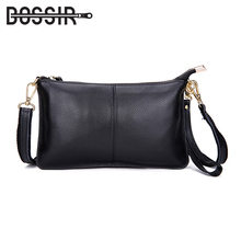 2018 Genuine Leather Women Bag Party Clutch Evening Bags Fashion Ladies Shoulder Crossbody Messenger Bags for women HB-245(China)