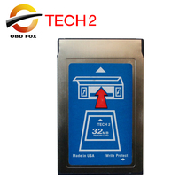 2017 new Tech2 32MB Pcmcia Memory Card with 6 kinds of software & Empty Card Hot 32MB card free shipping
