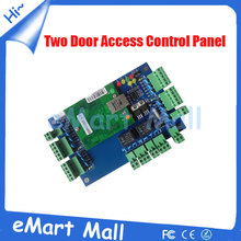 Free shipping  TCP/IP weigand/Intelligent Two-door Two-Way Access Control Panel 40000users