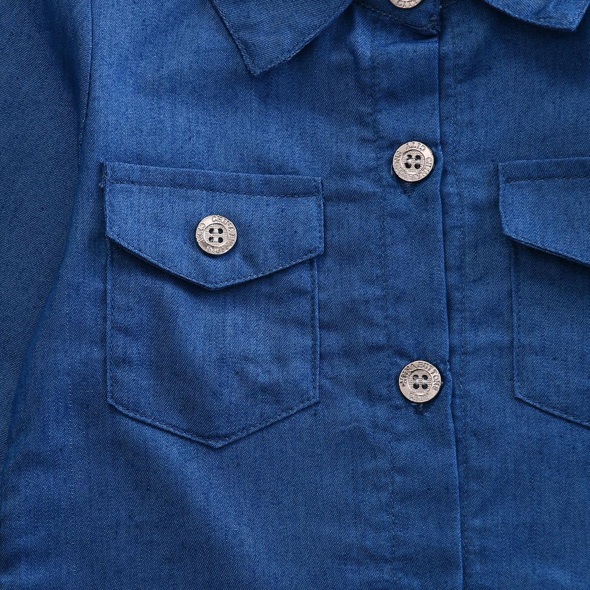 0-5a enfant nouveau enfants bébé filles infantile à manches longues denim tops shirt + tutu jupes dress + bandeau 3 pcs jeans tenues vêtements set 7