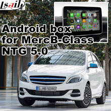 Android GPS navigation box for Mercedes benz B class NTG 5.0 video interface box mirror link youtube quad core waze igo(China)