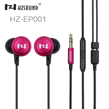 2017 New HZSOUND EP001 Newest Eraphones Wood earphone high quality stereo Earphone Pro listen music Earphones For Player mobile(China)