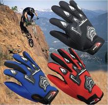 2017 New Arrivel Fashion Hot Racing Motorcycle Gloves Quality Stylishly Decorated Antiskid Wearable Full Finger Glove Free Size