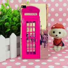 B3808 Telephone In London Transparent Hard Thin Case Skin Cover For Huawei P 6 7 8 9 Lite Plus Honor 6 7 4C 4X G7