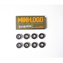 MINI LOGO Pro Skateboard Bearing Precise skating Speed Bearing Race Deep Gloove Ball Skate Bearing 8pcs(China)