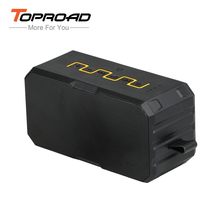 Toproad 3-in-1 Bluetooth Speaker Power Bank Waterproof Dust Wireless Speaker Portable Speaker Outdoor Stereo SoundBox with Mic(China)