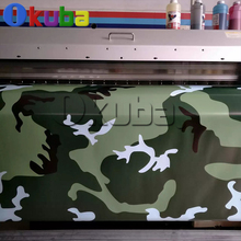 Jumbo Military Green Camouflage Vinyl Car Wrap Large Camo Film Sheet with Air Bubble Fre For Truck Urban Decal Sticker