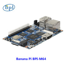 64-bit Quad-core mini single board computer BPI-M64 Banana Pi Board(China)