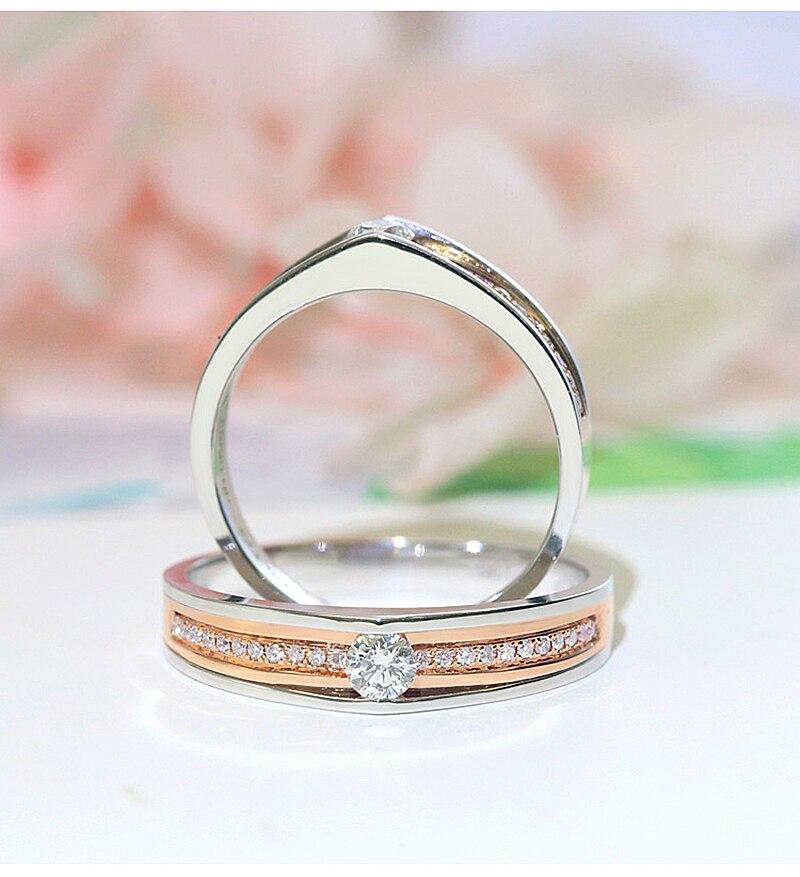 4.00 CT Brillant Rond Diamant Rivets 14K Solide Or Blanc Pour Femme Boucles d/'oreilles