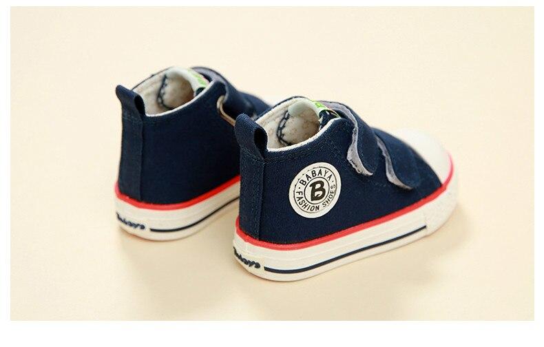 Enfants chaussures pour fille enfants toile chaussures garçons 33