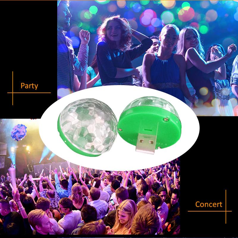 Led Lamp USB Mini Magic Stage Light DC 5V Portable RGB LED Neon Light Crystal Rotating Ball Color Change With Music Rhythm (17)