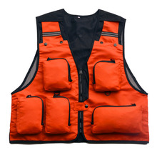 Outdoor Brand Breathable Fishing Vest New 5 Color Climbing Jacket Hunting Vest Multi-pocket Fishing Jacket+Free shipping!!