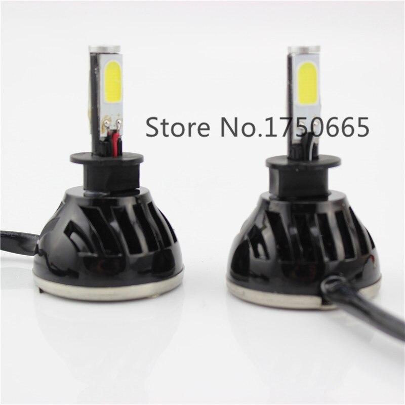 Car Lighting Styling 24W H3 Led Bulb High Power COB Car LEDs Bulbs Auto Daytime Running Conversion Light for Car Fog Lamp DC 12V<br>