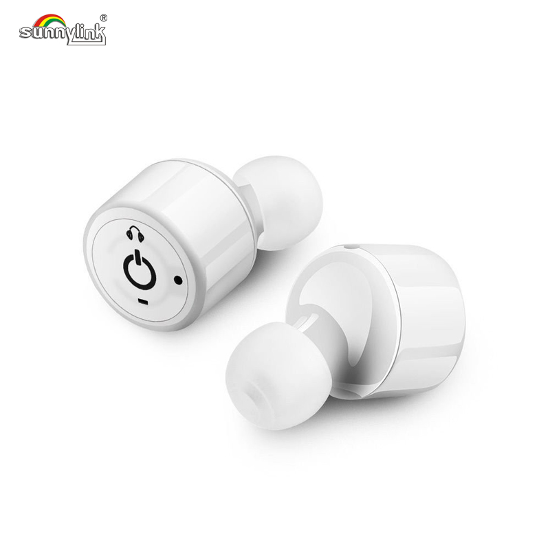 SUPER MINI TWINS WIRELESS BLUETOOTH EARPHONES CSR BLUETOOTH 4.2 PAIR IN-EAR HEADSET  EARBUDS FOR IPHONE/SAMSUNG /LG SMART PHONES<br>
