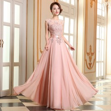 long eveing dress Bridesmaid coral colored bridesmaid dresses quinceanera ever pretty royal blue 2016 robe sirene robe sweet 16(China)