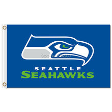 Seattle Sea Flag 3x5 FT Banner With Grommets World Series Football Team Champions Super Fan Banners Seattle Banner Flag(China)