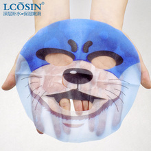 LCOSIN Brand Skin Care otter Packing Facial Mask 25ml Moisturizing Oil Control Cute Animal Face Masks(China)