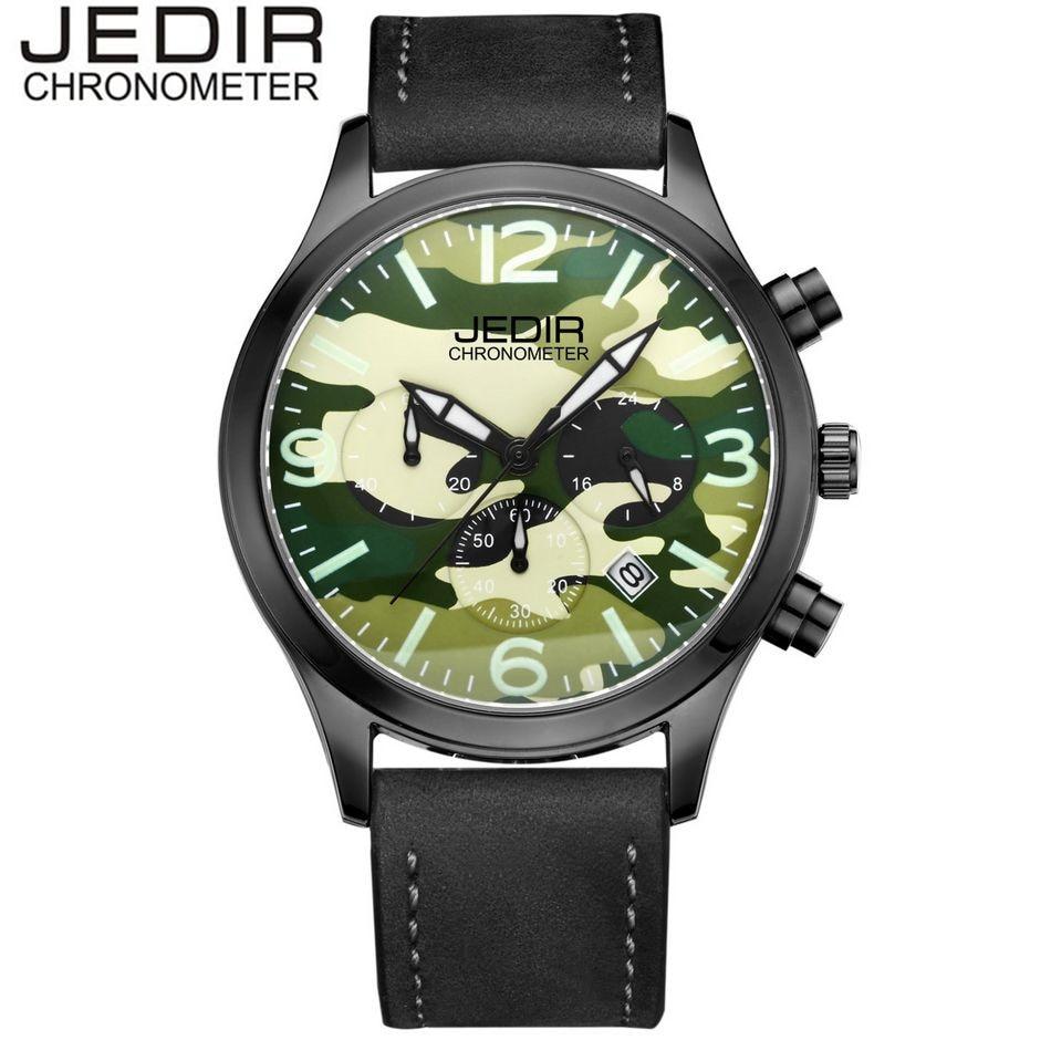 JEDIR Luxury Brand Mens Quartz Watches Military Sports Quartz Day Watch Brand clock Relogio masculino Gift Box Free Ship<br><br>Aliexpress