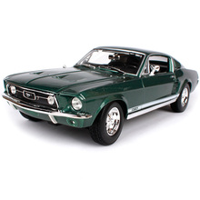 Maisto 1:18 1967 Ford Mustang GTA Fastback Muscle Car model Diecast Model Car Toy New In Box Free Shipping 31166