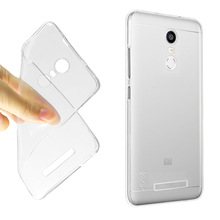 Newest Ultra-thin Clear Crystal Soft Cover Transparent TPU Phone Cases for Xiaomi Redmi Note 3 Pro Case Cheap Fundas Accessories