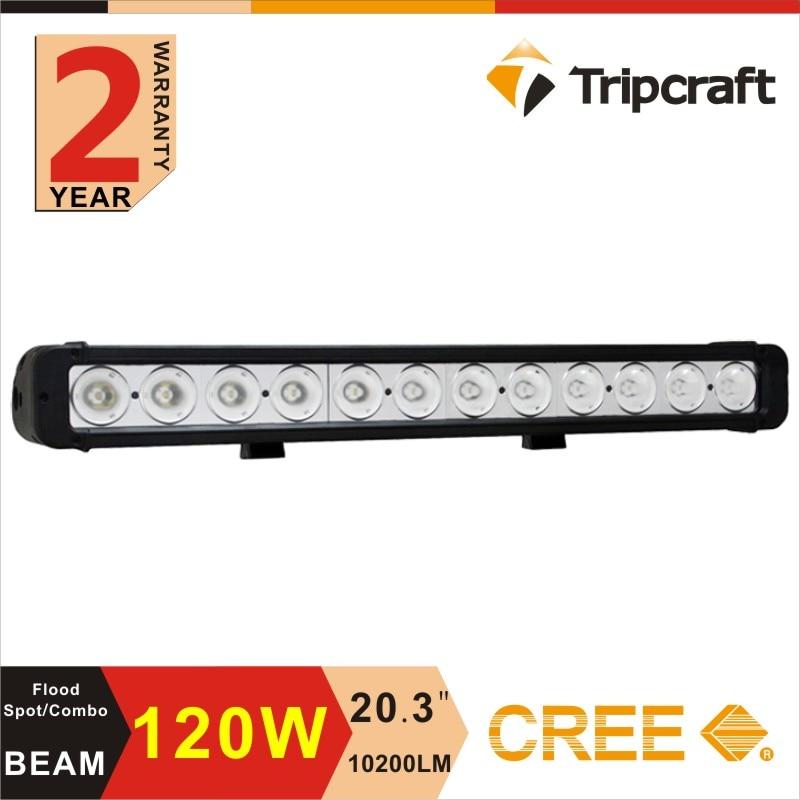 120W single row LED Light Bar Offroad Driving 12V 24V led driving light bar for trucks 10-30V offroad led bar lights<br><br>Aliexpress