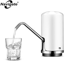 Navigate Wireless Electric Bottled Water Dispenser Pump Mineral Water Barreled Charging Electric Drinking Pump for Water Bottle(China)